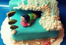 Body-board cake