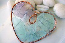 Broken Bits -- Glass & Pottery