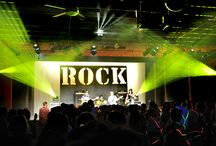 A Rock and Roll Music Summer Camp / Rocking out is the way some of our campers roll! Learn more and view our pins!