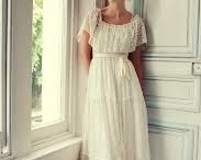 Wedding Ideas: Wedding Dresses / Ooh there is so much choice when it comes to wedding dresses! From the traditional to the princess dress, the colourful to the Gothic...the list is endless. We've picked a few of our favorites and will keep adding when we see some more striking dresses.