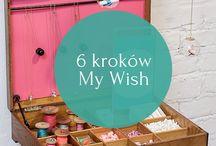 minty dot // 6 kroków My Wish / Krok po kroku, jak możecie stworzyć swój wymarzony My Wish ♥ Na zdjęciach piękna Karolina Baszak ♥ A jakie jest Twoje marzenie?