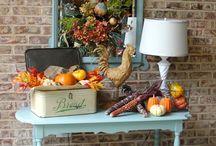 Seasonal / Seasonal decorating/ inspiration