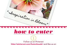 """@Fusionbeads """"Inspiration in Bloom"""" pin challenge"""