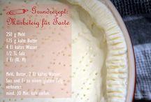 Rezepte Backen Quiche, Pizza + Tarte