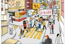 hongkong illustration