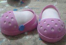 Zapatos de fofuchas