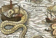 medioeval sea monster
