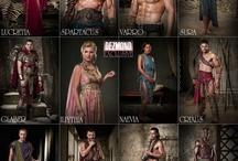 Spartacus TV Show/Manu Bennett