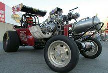 old drag race cars