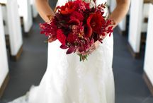 Red Theme Wedding Inspiration