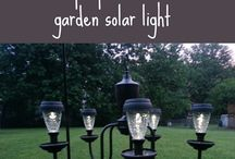 outdoor solar lights bling