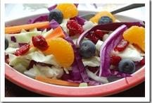 Salads & Dressings / by Julia Mangan (A Little Bit of All of It)