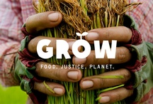 food. justice. planet. / Oxfam's GROW campaign aims to build a better food system: one that sustainably feeds a growing population (estimated to reach nine billion by 2050) and empowers poor people to earn a living, feed their families, and thrive. / by Oxfam America