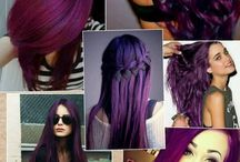Hair color (purples)
