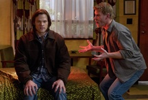 Supernatural  / Returning for its seventh season, this haunting series follows Sam and Dean Winchester, two brothers bound by tragedy and blood to the one thing that runs through both their veins - hunting monsters. Fridays at 9/8c on The CW. / by Warner Bros. Word