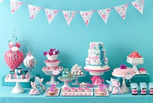 Vintage Aqua and Pink Party / by Stephanie Eckman