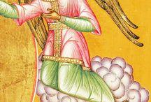 orthodox kegyképek / az orthodox felekezetek kegyképei Jézus és Minden szentről
