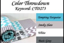 2014 Color Throwdown Challenges / Paper crafting