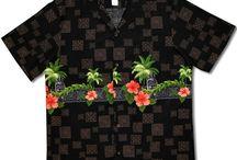 RJC Robert Clancey aloha shirts