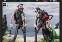 Game art inspiration