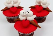 sevgililer gunü cup cake