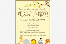 Baby Shower Printables / Printable Baby Shower Games, Invitations, Decorations & More!