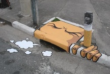 Street Art & Stencils / Love street art!