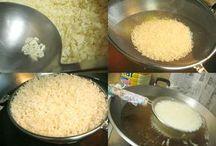 puffed rice quinoa sorghum