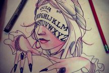 Tattoo 'witch arm'