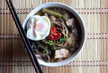 Platos principales / Variedad de platos principales sanos, sabrosos y con sabores de todos los rincones del mundo