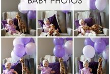 Monthly baby photos ideas