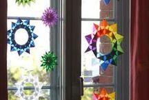 Fensterdeko - Kindergarten