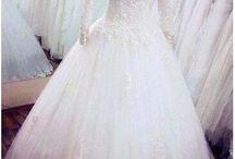 gaun bridal muslimah