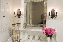 Powder Room / DIY and decorating ideas for the powder room