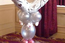 Elegant Wedding Decor using balloons, flowers and fabrics! / As the most important day of your life, it is essential that you engage a professional and experienced wedding expert who will work with you to ensure that your wedding day is perfect!