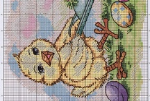 Easter embroideries