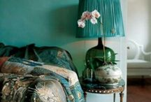 Totally Teal / Teal, fave for 2014. Totally turning my dining room teal. Boho chic, bold and with heaps of wild flowers
