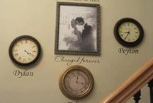 Photo wall living room