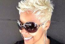 koppie blond kort haar