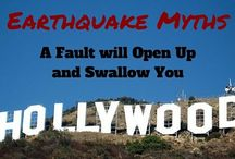 Earthquake Myths / There's a lot of misinformation out there which can lead you to do the wrong things during an earthquake. This can have dire consequences. This board is made to dispel those myths and tell you what is actually true and safe.