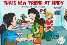 Strating Kindy with Food Allergies / Starting kindy is a big step for any child, but it can be even more challenging if your child has a food allergy