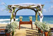 Casamentos na Praia & Beach Weddings / Casamentos na praia em hotéis, pousadas e resorts do Brasil.