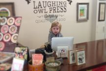 Print Shop People at Laughing Owl Press