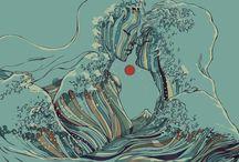 Illustrazioni e Disegni. / Raccolta di disegni digitali e non per ispirarmi.