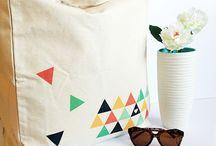 Diy printed bag