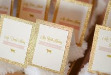 Place Card Tables and Seating Charts