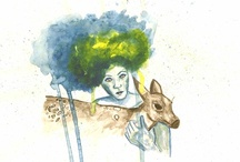 Illustration / Casa Lefay illustrations, made with love for nature lovers. Watercolor and ink hand made illustrations.