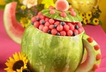 {Fruit Ideas} / Προτάσεις σερβιρίσματος φρούτων, κατασκευές με φρούτα