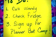 Planner Boot Camp