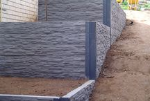 Retaining walls concrete / Concrete sleeper retaining wall ideas for clients